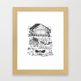 Las Cruces Framed Art Print