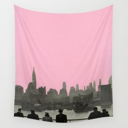 New York Nights Wall Tapestry