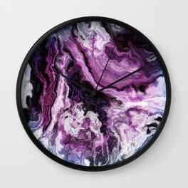 unique marble cv Wall Clock