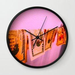 True Hard Money (Color) Wall Clock