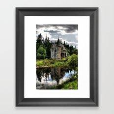 A Fairytale Gatelodge Framed Art Print