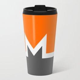 Monero Cryptocurrency Travel Mug