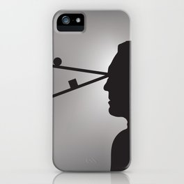 The Prisoner is Being Tested iPhone Case