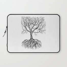 Bare tree with root Laptop Sleeve