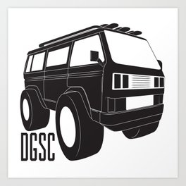 Adventure Van Art Print