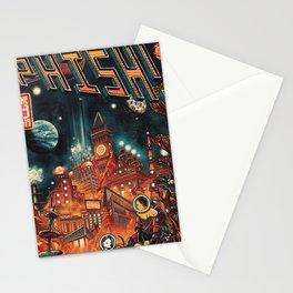phish orbiter 2021 Stationery Cards