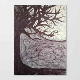 Moon Tales Canvas Print