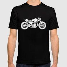 Triumph Bonneville - Cafe Racer series #3 Mens Fitted Tee Black MEDIUM