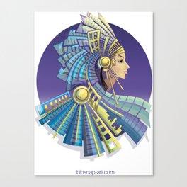 Amerindian Fantasy Canvas Print