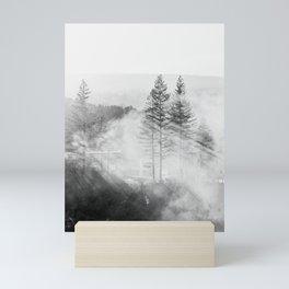 Trees in the Mist Mini Art Print