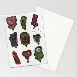 Ghoul Head Gallery Stationery Cards