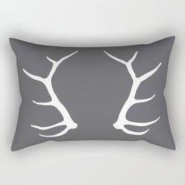 Elk Antler Rectangular Pillow