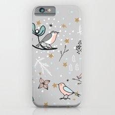 Scandinavian birds Slim Case iPhone 6s