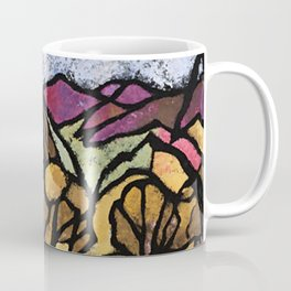 """A Mile Out of Alice Spings"" Margaret Preston Coffee Mug"