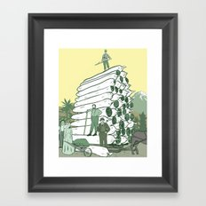 Pot Pioneers Framed Art Print