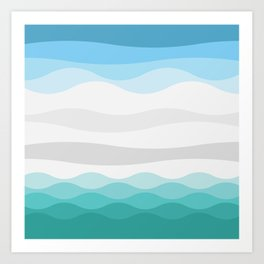 Polarscape Art Print