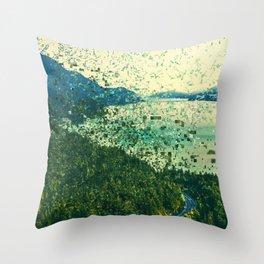 Donner Pixalted Throw Pillow