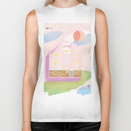 Architecture is everywhere Biker Tank