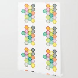 Honeycomb Layers Wallpaper