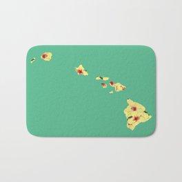Hawaii in Flowers Bath Mat