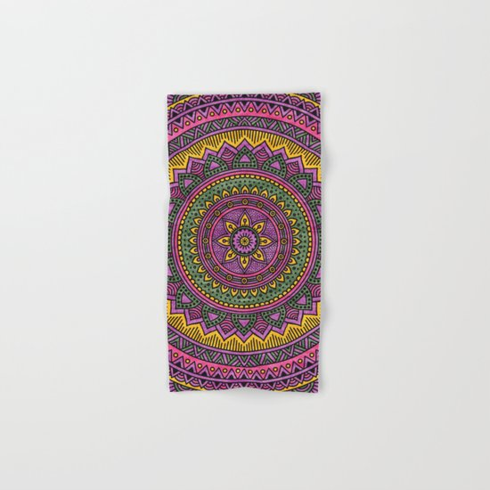 Hippie mandala 45 Hand & Bath Towel