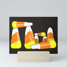 Candy Corn Henge Mini Art Print
