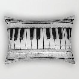 The piano Rectangular Pillow