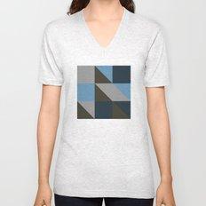#149 United shapes of geometry – Geometry Daily Unisex V-Neck
