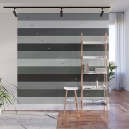 Pantone gray scale Wall Mural