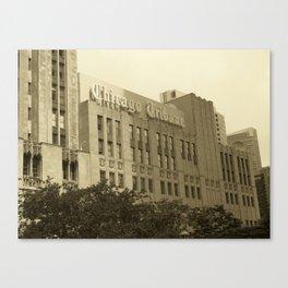 The Tribune Canvas Print