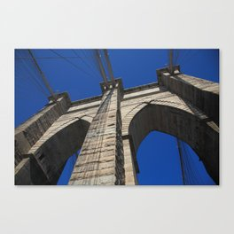 Brooklyn Bridge - New York City 2013 Canvas Print