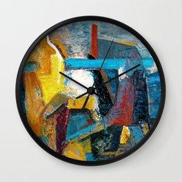 The Awkward Seagull Wall Clock