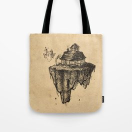 Floating Home Tote Bag
