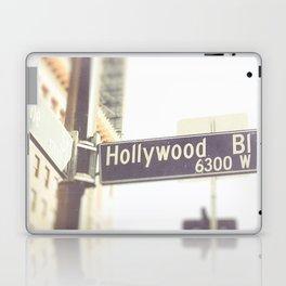 Hollywood Blvd Street Sign Laptop & iPad Skin