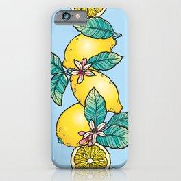 Lemon Stack iPhone Case
