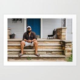 Artists In Jackson: Doug Jones Art Print
