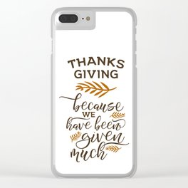 Thanksgiving gift ideas, Thanksgiving art, Thanksgiving decor, Thanks giving HOLIDAZE Clear iPhone Case