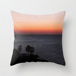 calabrian-vulcano Throw Pillow