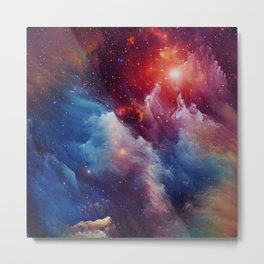 Misterious Space Metal Print