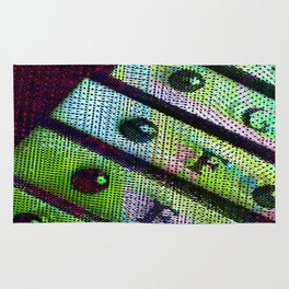 sound of neon 1 Rug