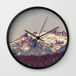 Vintage Cascades Wall Clock