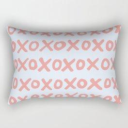 Tic Tac Toe (XOXO) Rectangular Pillow