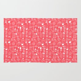 Pattern Project #8 / Things (red) Rug