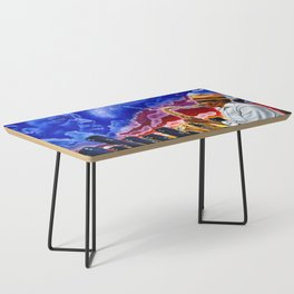 'Trane in the Sky Coffee Table