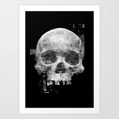 Favela'Skull Art Print