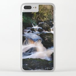 Flowing river Clear iPhone Case