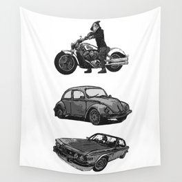Speed-shoppe Wall Tapestry