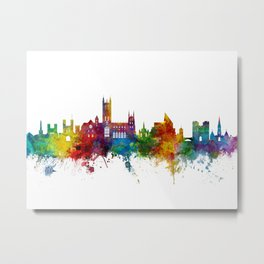 Canterbury England Skyline Metal Print