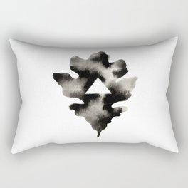 Geometric Triangle Oak Leaf Rectangular Pillow