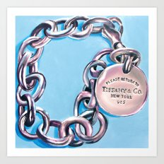Tiffany & Co. Art Print